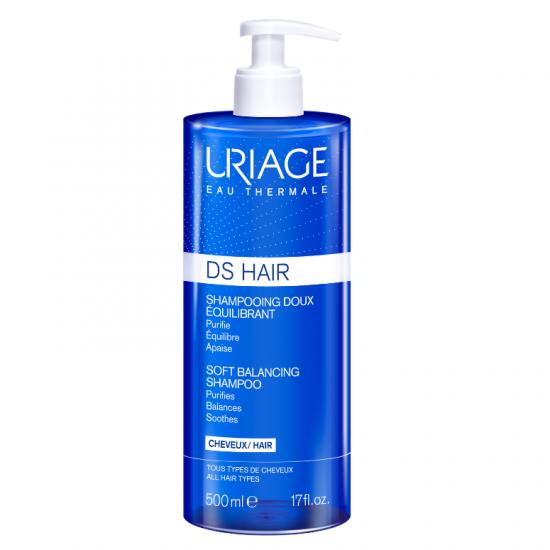 Fisa produs Sampon reechilibrant D.S. Hair, 500 ml, Uriage