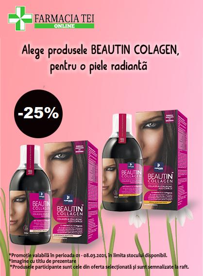 Beautin Collagen 25% 1-8 Martie