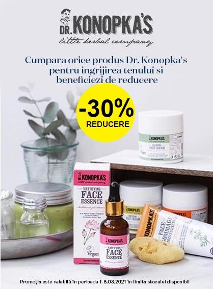 Dr. Konopkas 30% 1-8 Martie