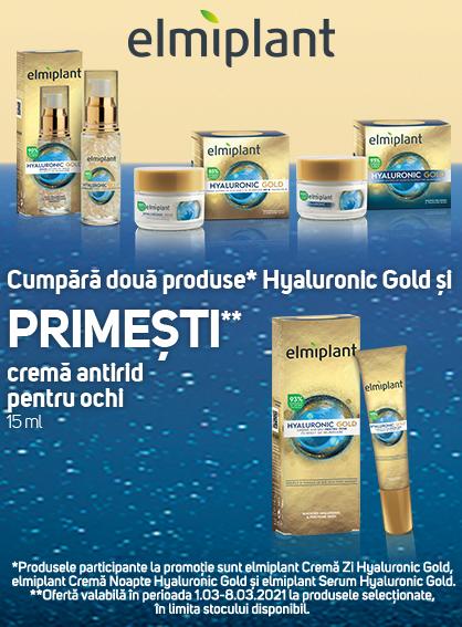 Elmiplant Gold Promo 1 - 8 Martie