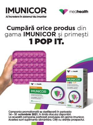 Promotie Imunicor Produs Bonus Octombrie