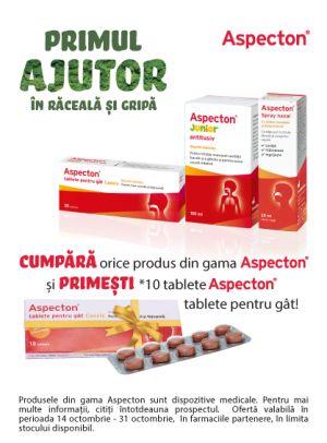 Promotie Aspecton Produs Bonus Octombrie