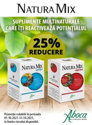 Promotie Aboca 25% Reducere Octombrie
