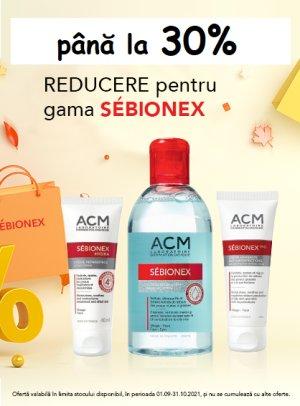 Promotie ACM Sebionex Pana la 30% Reducere Septembrie-Octombrie