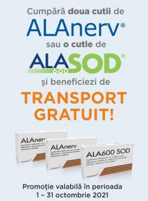 Promotie Alanerv Ala600 SOD Transport Gratuit Octombrie