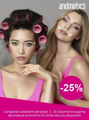 Promotie Andmetics 25% Reducere