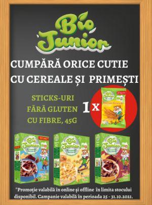Promotie Bio Junior Produs Bonus Octombrie