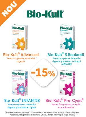 Promotie Bio-Kult 15% Reducere Octombrie - Decembrie