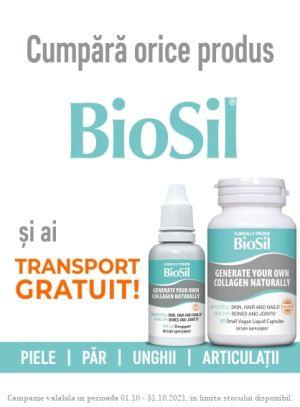 Biosil Octombrie - Transport Gratuit