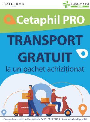 Promotie Cetaphil Pro Transport Gratuit