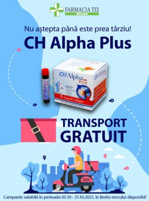 Promotie ChAlphaPlus Transport Gratuit