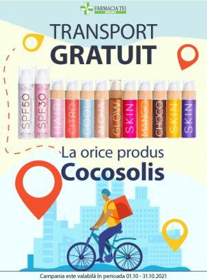 Promotie Cocosolis Transport Gratuit Octombrie