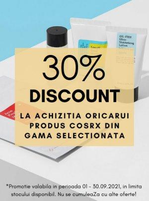Cosrx Septembrie 30%
