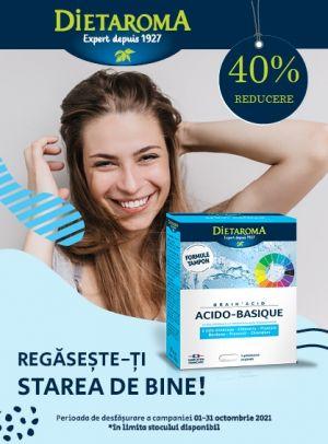 Promotie Dietaroma 40% Reducere Octombrie - Noiembrie