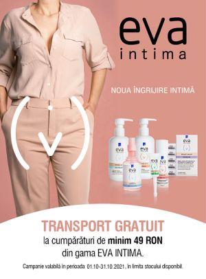Promotie Eva Intima Transport Gratuit Octombrie