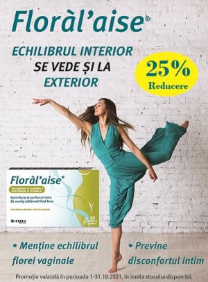 Promotie Floral Aise 25% Reducere Octombrie