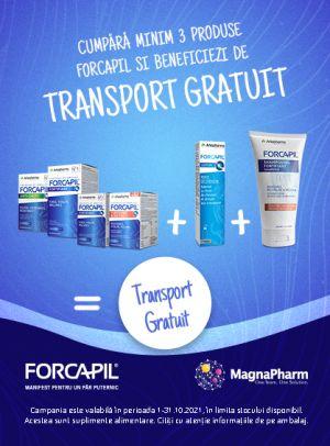 Promotie Forcapil Transport Gratuit Octombrie