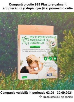 GTS Solution -Plasture calmant - Septembrie