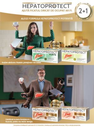 Hepatoprotect 2+1 Septembrie - Octombrie info