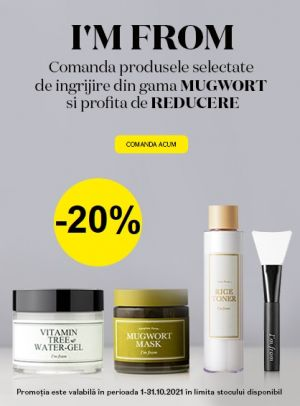 Promotie Im From 20% Reducere Octombrie