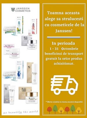 Promotie Janssen Transport Gratuit Octombrie