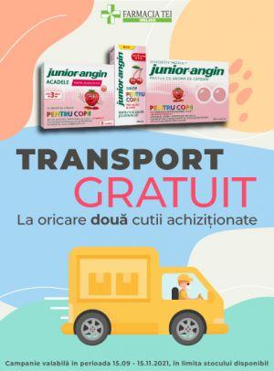 Promotie Junior Angin Transport Gratuit Sept - Nov
