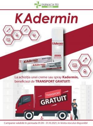 Promotie Kadermin Transport Gratuit Septembrie-Octombrie