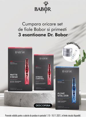Promotie Babor Kit Produs Bonus