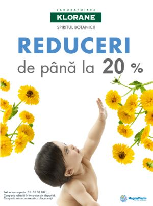 Promotie Klorane 20% Reducere