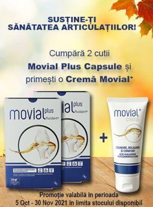 Promotie Movial+ Produs Bonus Octombrie - Noiembrie