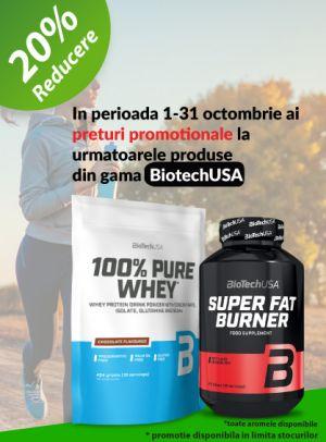 Promotie Muscle Shop 20% Reducere Octombrie