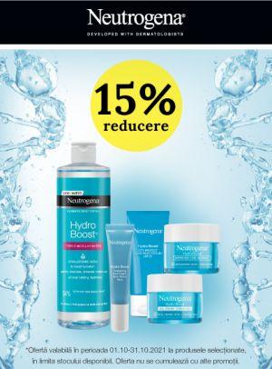 Promotie Neutrogena 15% Reducere Octombrie