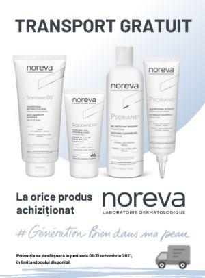 Promotie Noreva Transport Gratuit Octombrie