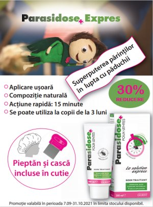 Promotie Parasidose 30% Reducere Septembrie