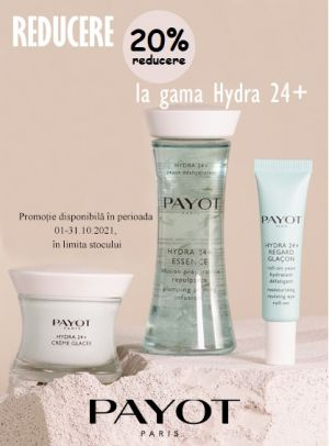 Promotie Payot 20% Reducere Octombrie