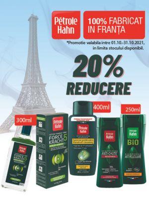 Promotie Petrole Hahn 20% Reducere Octombrie