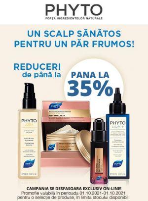 Promotie Phyto pana la 35% Reducere Octombrie