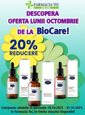 Promotie Nutrisorb 20% Reducere Octombrie