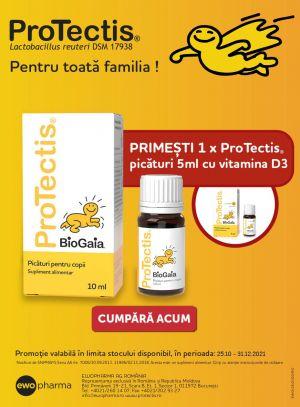 Promotie Protectis Produs Bonus Noiembrie - Decembrie