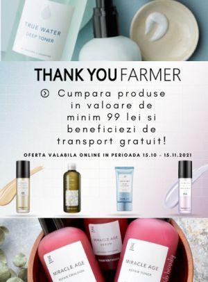 Promotie Thank you farmer Transport Gratuit