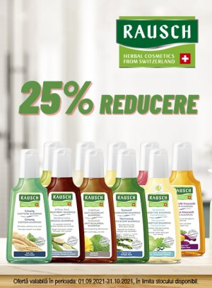 Rausch 25% Septembrie-Octombrie
