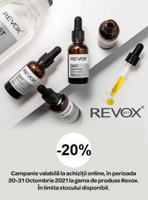 Promotie Revox 20% Reducere