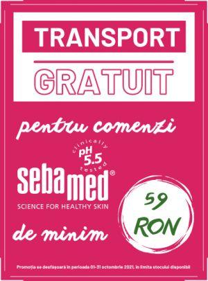 Promotie Sebamed Transport Gratuit Octombrie