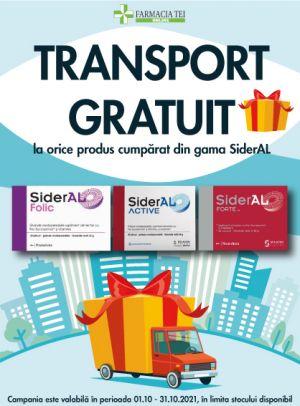 Promotie SiderAL Transport Gratuit