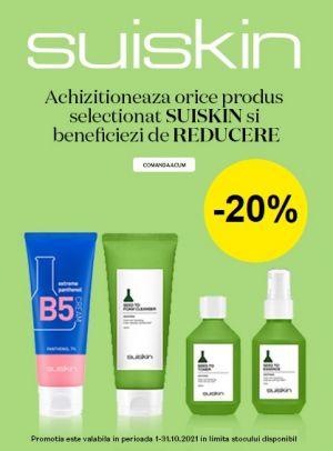 Promotie Suiskin 20% Reducere
