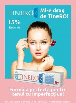 Promotie Tinero 15% Reducere Octombrie