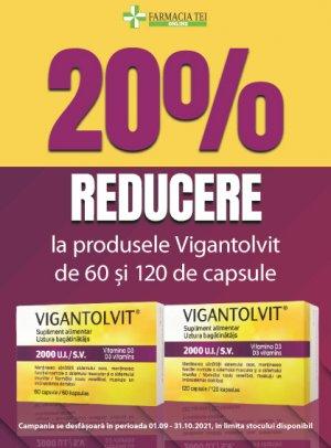 Vigantolvit Septembrie - Octombrie 20%