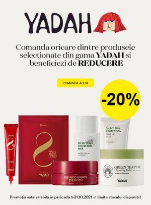 Promotie Yadah 20% Reducere