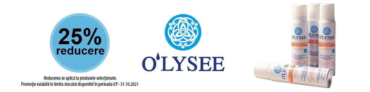 Promotie Olysee 25% Reduere Octombrie