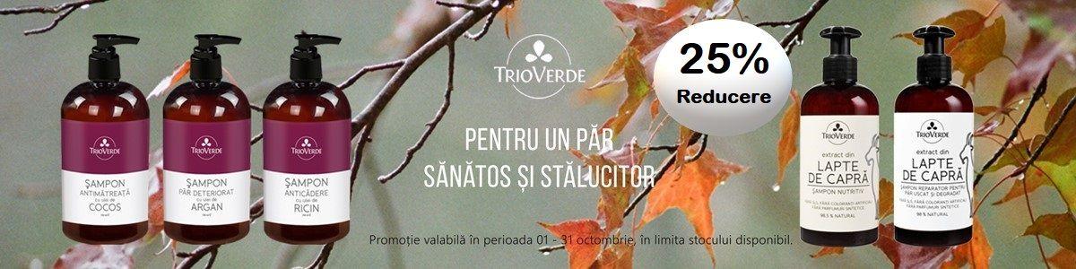 Promotie Trio Verde 25% Reducere